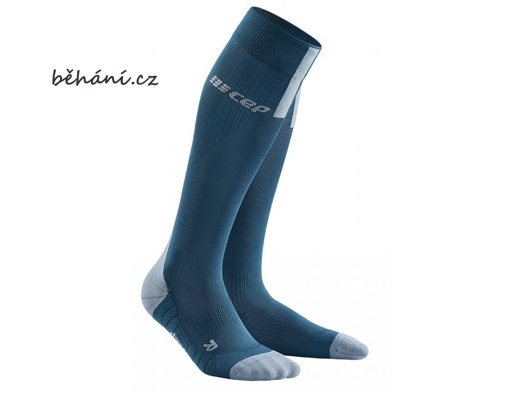 Run Compression Socks 3.0 blue grey WP50DX m WP40DX w pair front