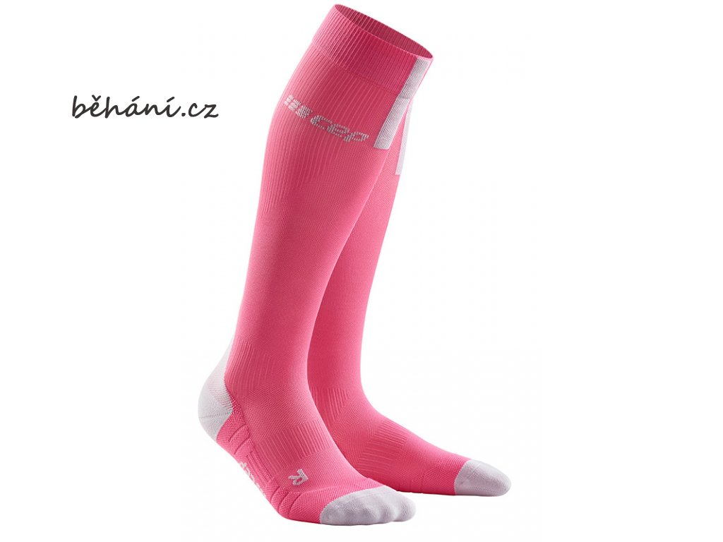 Run Compression Socks 3.0 rose light grey WP40GX w pair front