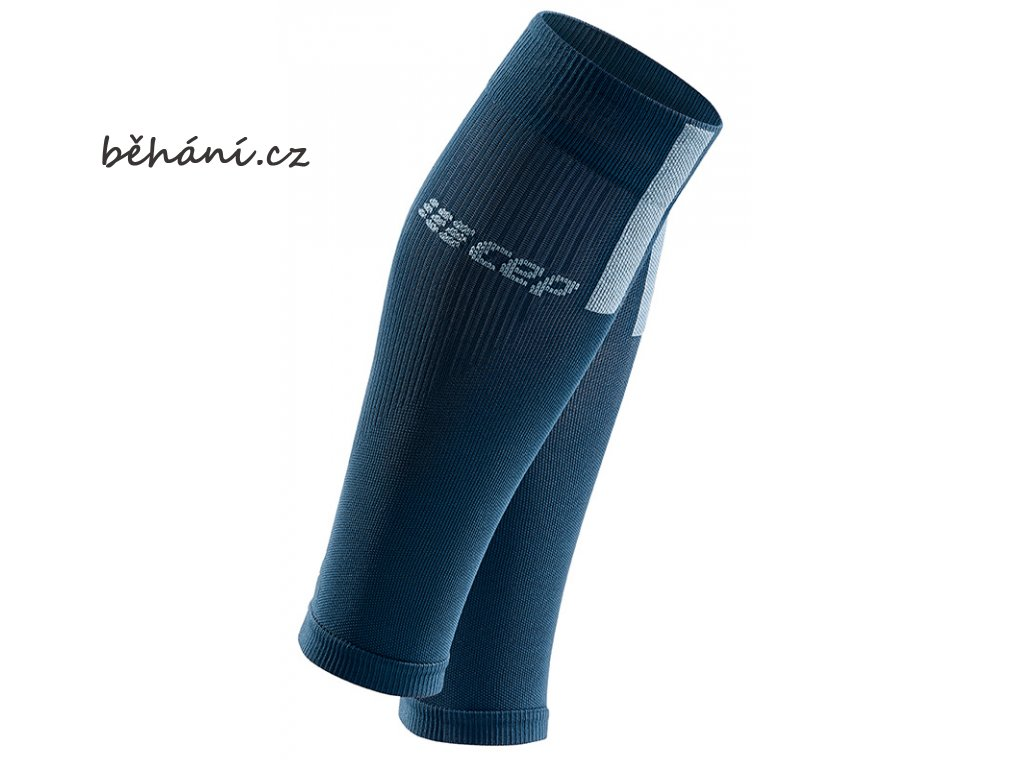 Compression Calf Sleeves 3.0 blue grey WS50DX m WS40DX w pair front