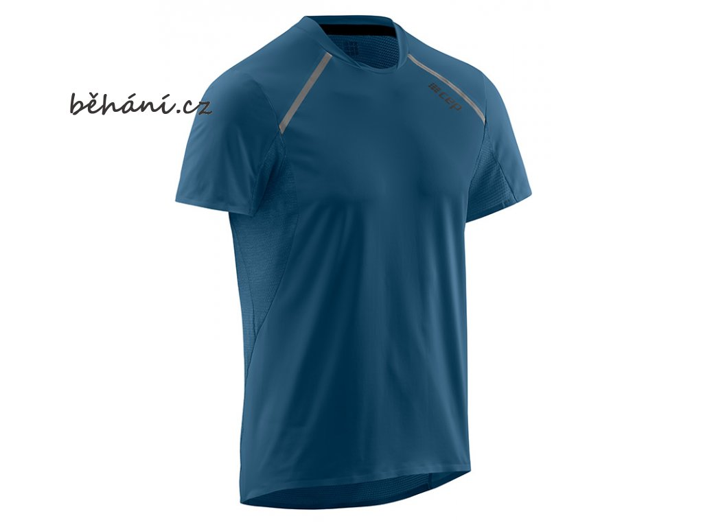 Run Shirt Short Sleeve blue W91335 m front