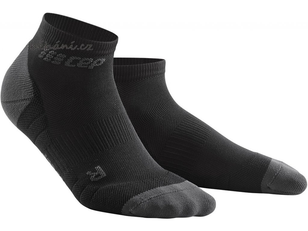Compression Low Cut Socks 3.0 black dark grey WP5AVX m WP4AVX w pair front