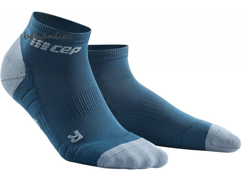 Compression Low Cut Socks 3.0 blue grey WP5ADX m WP4ADX w pair front