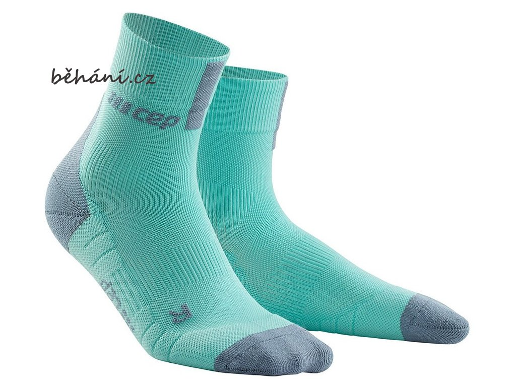 Compression Short Socks 3.0 ice grey WP5BFX m WP4BFX w pair front