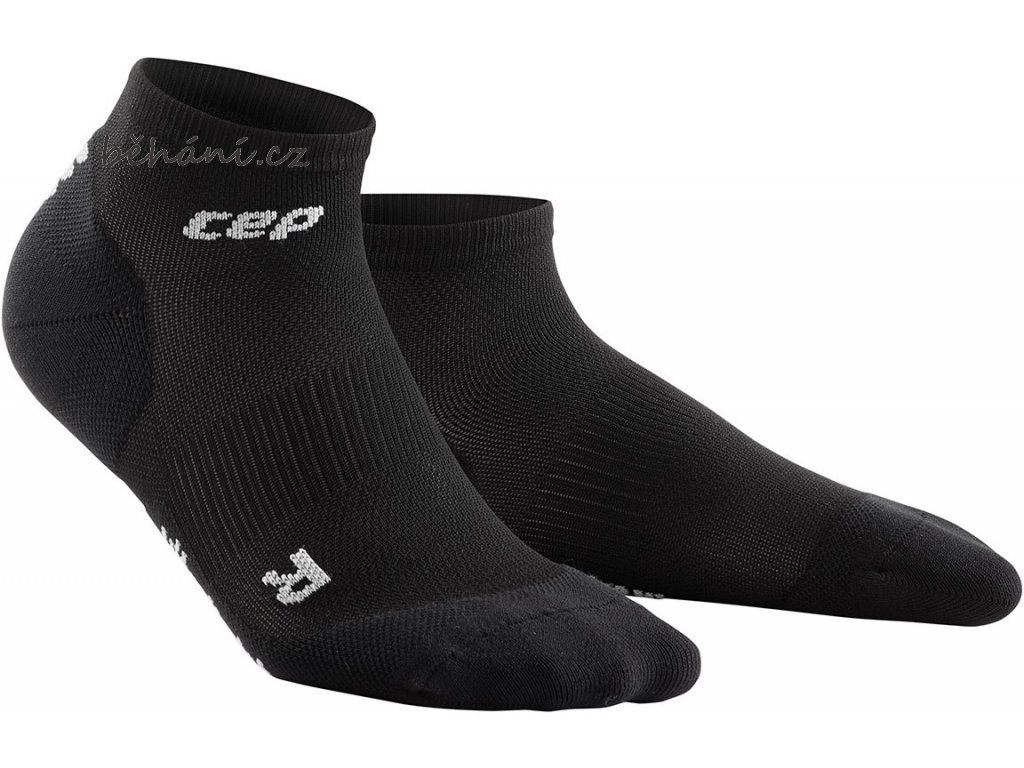 Ultralight Low Cut Socks schwarz WP5AVD m WP4AVD w pair front