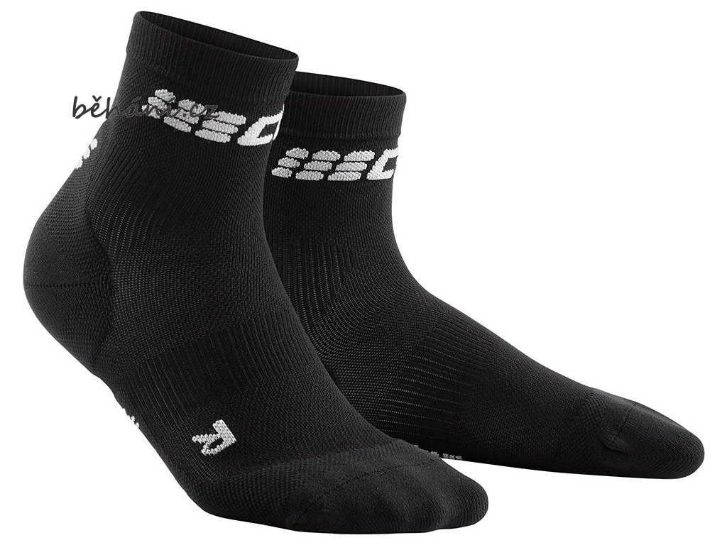 Ultralight Short Socks schwarz WP5BVC m WP4BVC w pair front