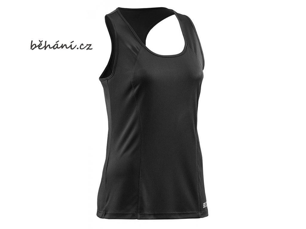 Brand Run Shirt Tank Top black WZ4I54 w front