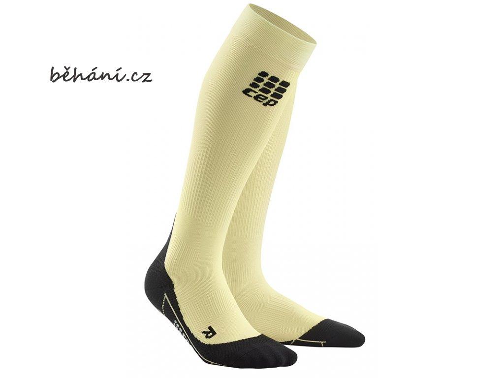 Compression Socks lunges lemon WP40RK w pair front