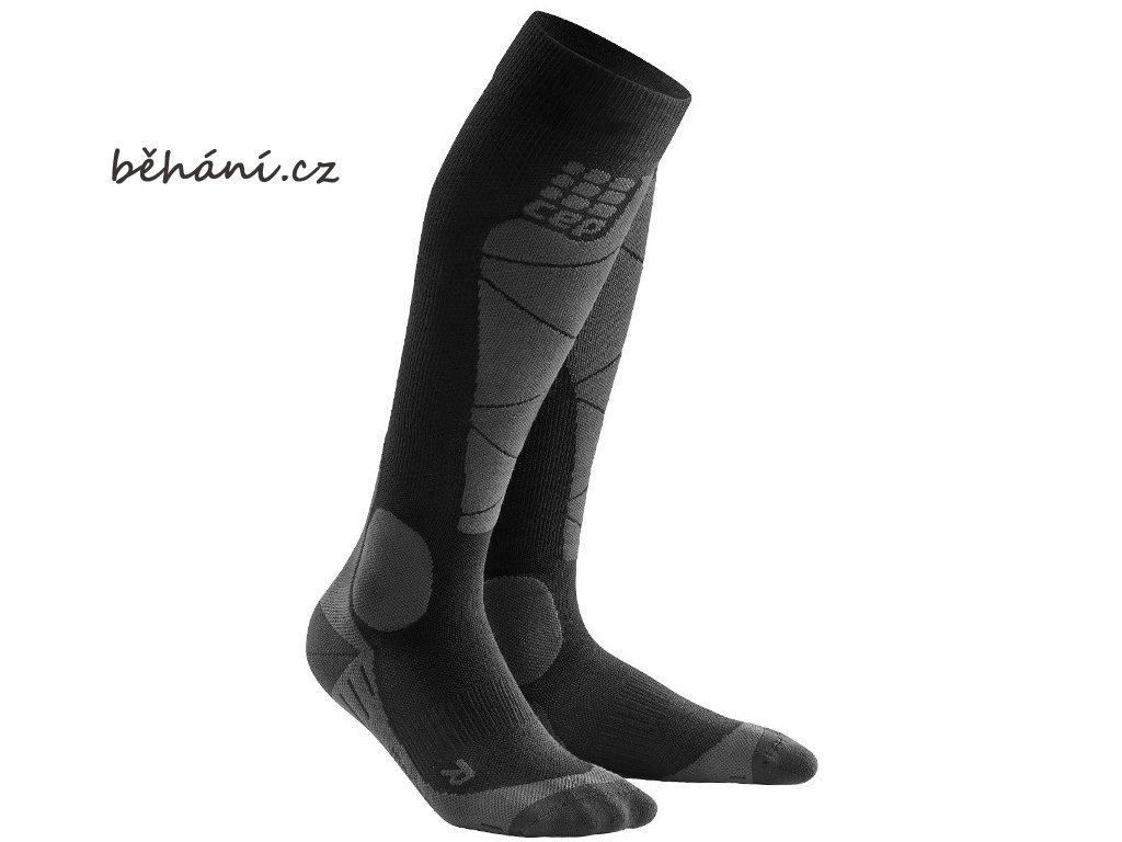 Ski Merino Socks black anthracite WP50BB m WP40BB w pair