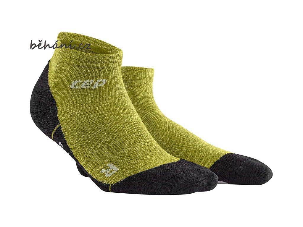 CEP Outdoor Light Merino Low Cut Socks fresh grass WP4AFF w WP5AFF m pair