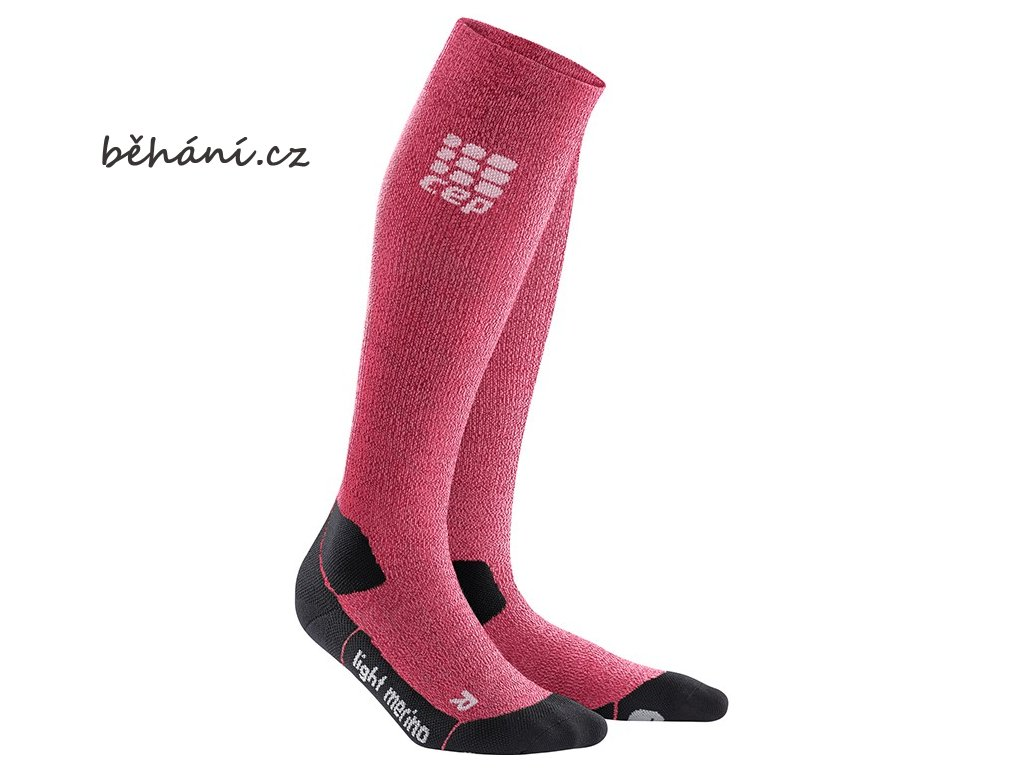CEP Outdoor Light Merino Socks wild berry WP40GF w pair