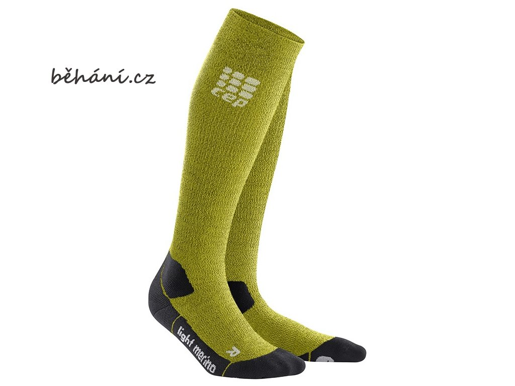 CEP Outdoor Light Merino Socks fresh grass WP40FF w WP50FF m pair