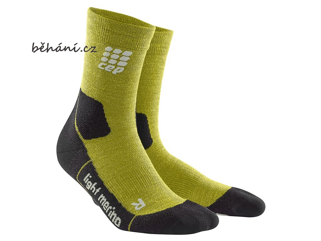 CEP Outdoor Light Merino Mid Cut Socks fresh grass WP4CFF w WP5CFF m pair
