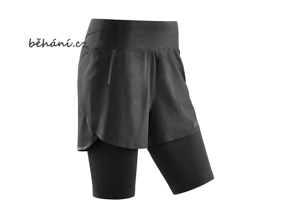 Run 2in1 Shorts black W9A15K w front sba