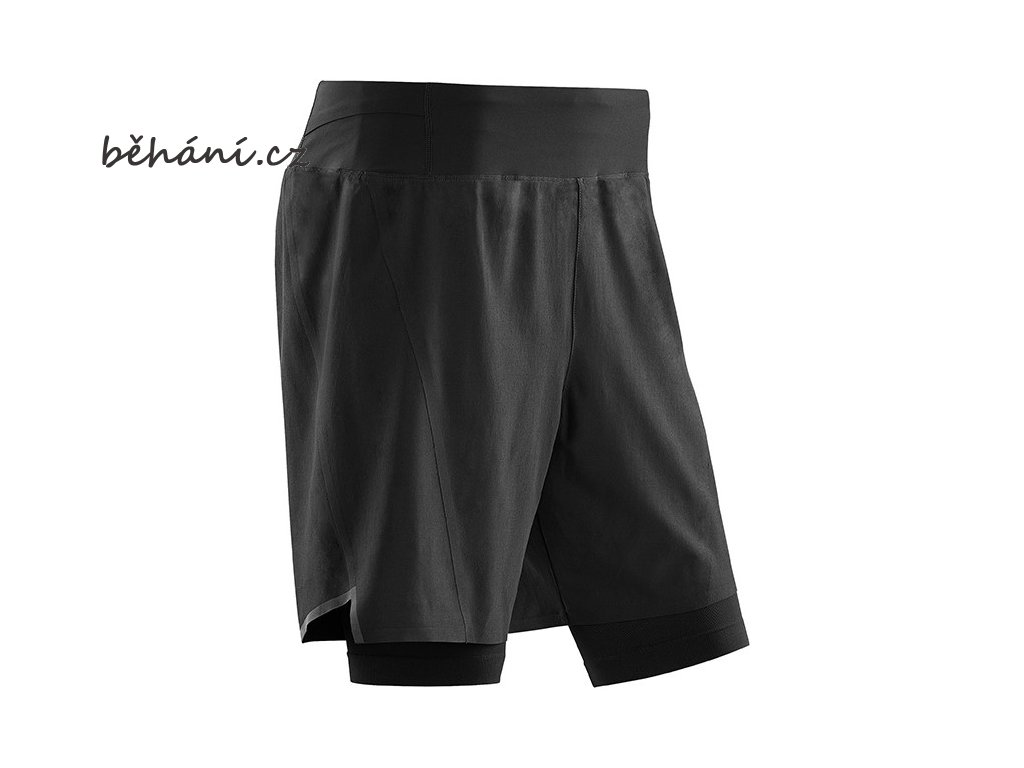 Run 2in1 Shorts black W9115K m front sba