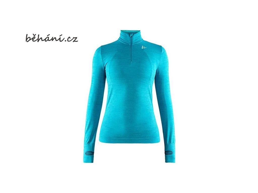 w triko craft fuseknit comfort zip modra