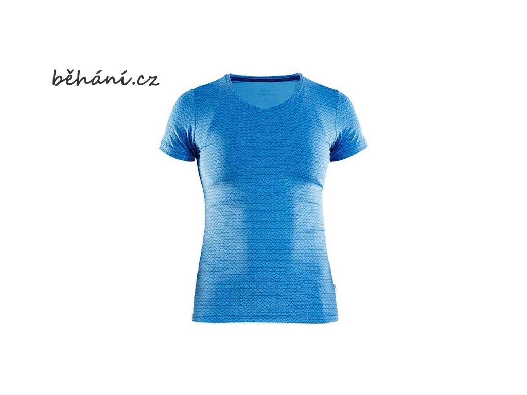 w triko craft essential v modra s potiskem