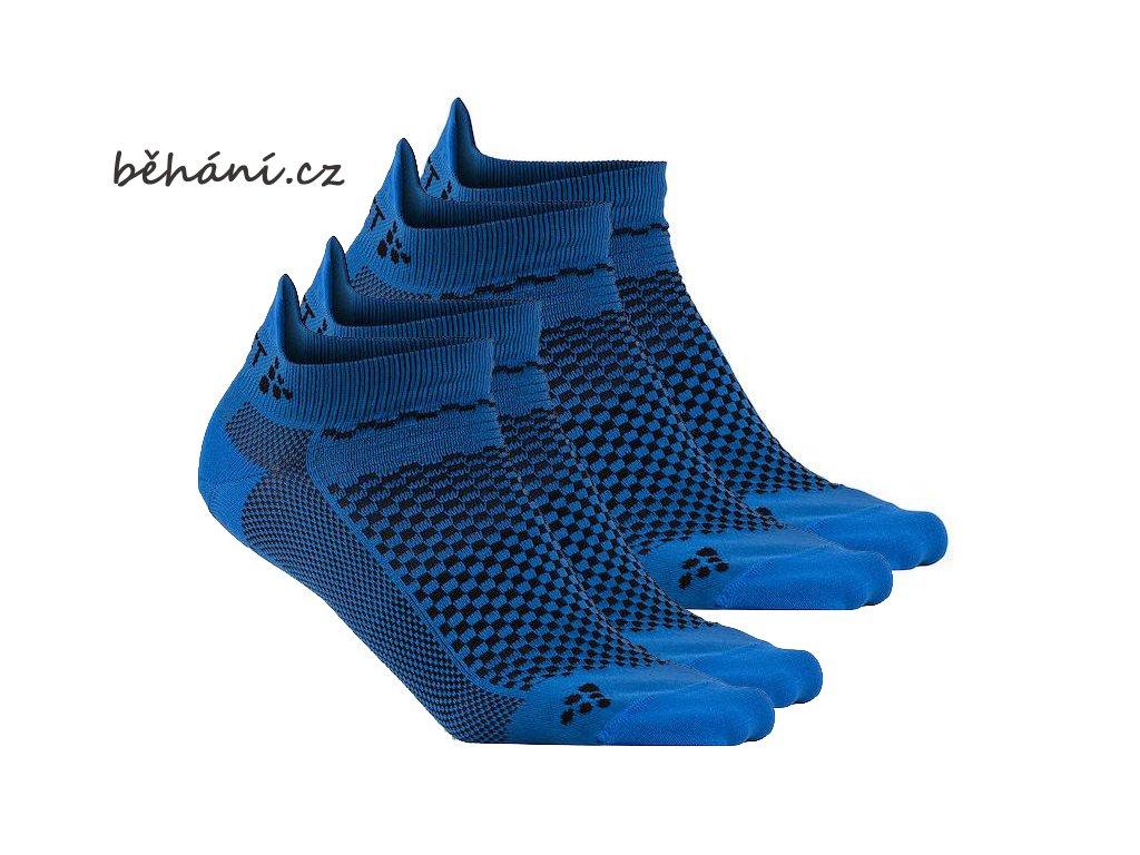 Ponožky CRAFT Shaftless 2 páry v balení