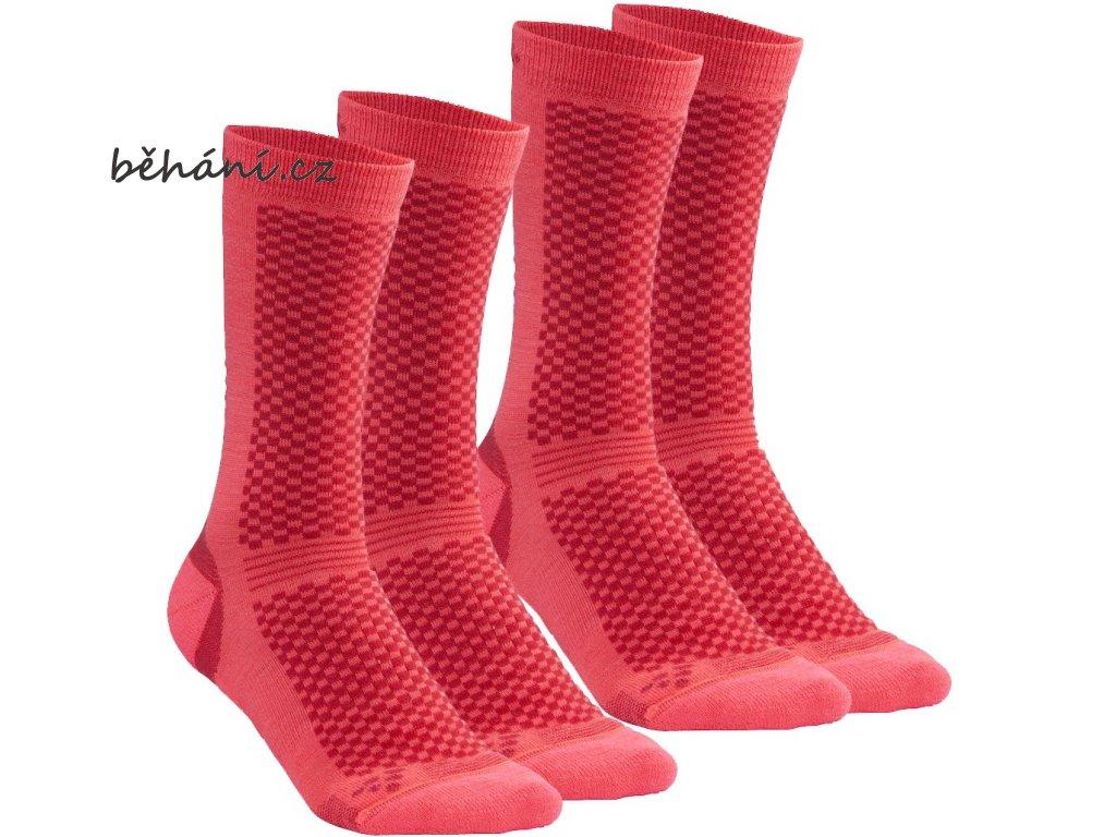 Ponožky CRAFT Warm - dva páry