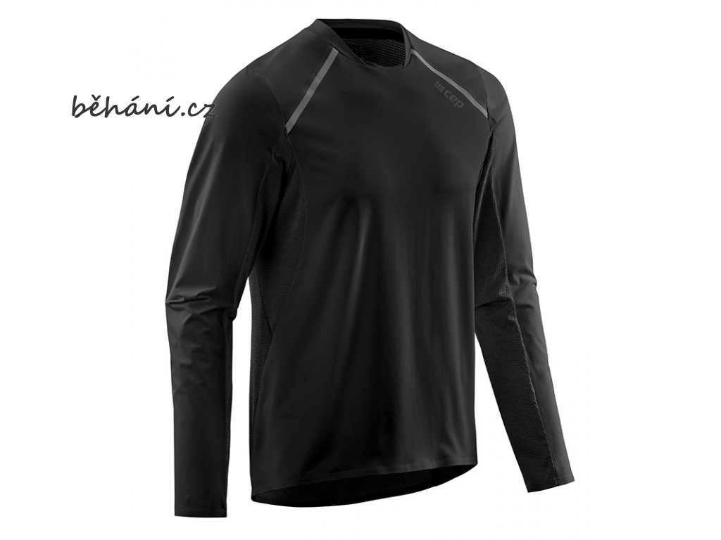 Run Shirt Long Sleeve black W91356 m front