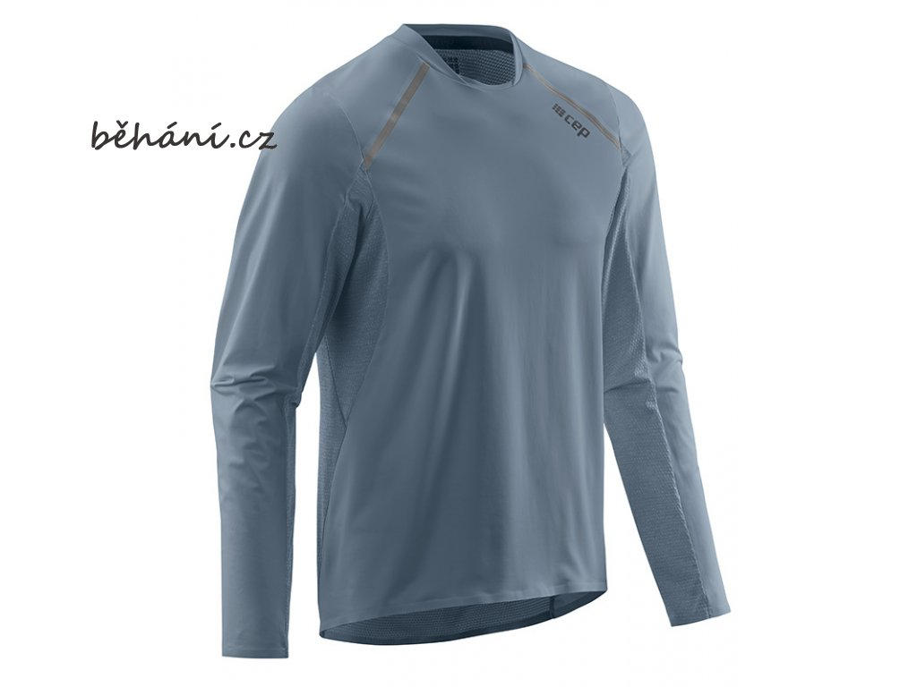 Run Shirt Long Sleeve grey W91326 m front
