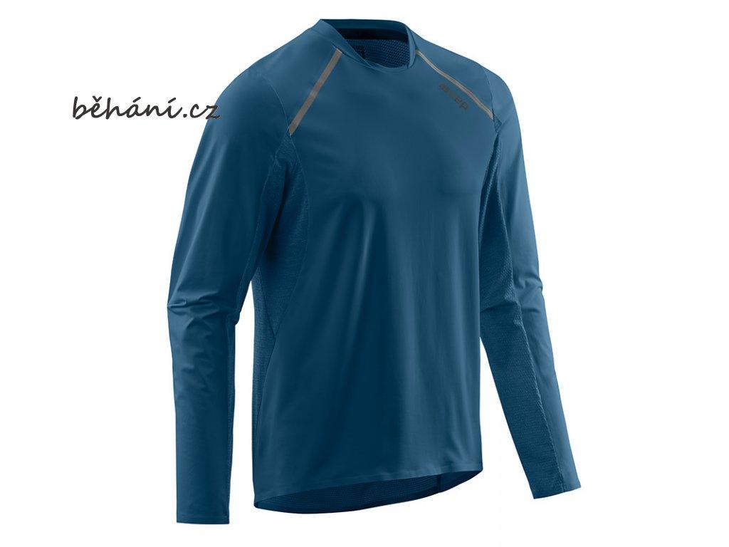 Run Shirt Long Sleeve blue W91336 m front