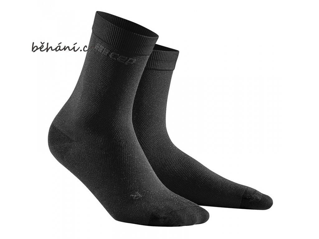 Business Socks Midcut black WP5C5E WP4C5E front 2