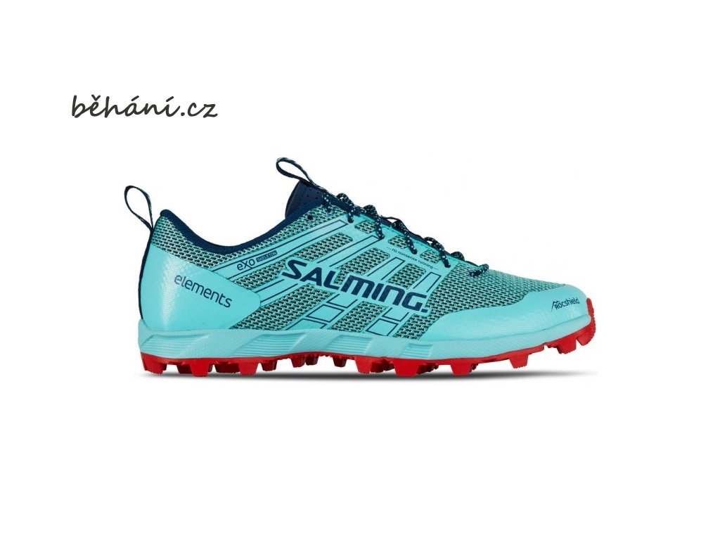 salming elements 2 shoe women aruba blue poseidon blue 85 uk