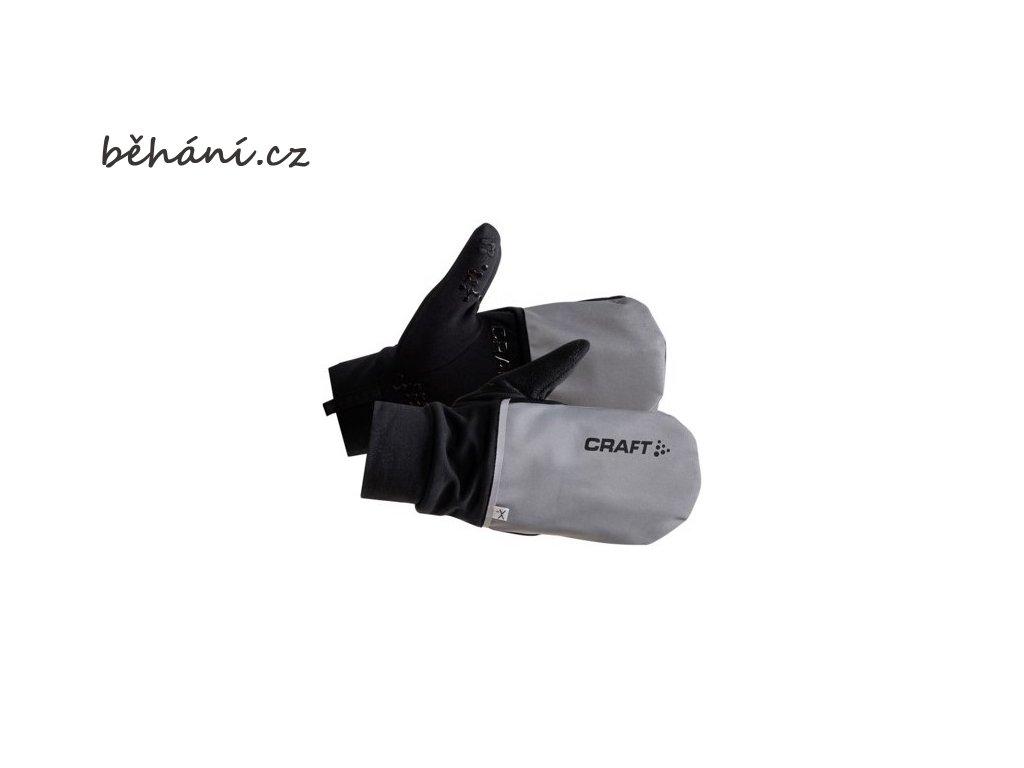 rukavice craft hybrid weather cerna 1
