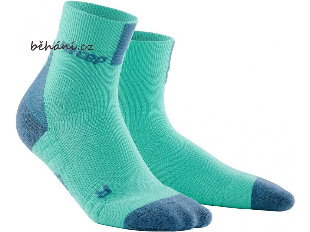 Compression Short Socks 3 0 mint grey WP4BCX WP5BCX front 2
