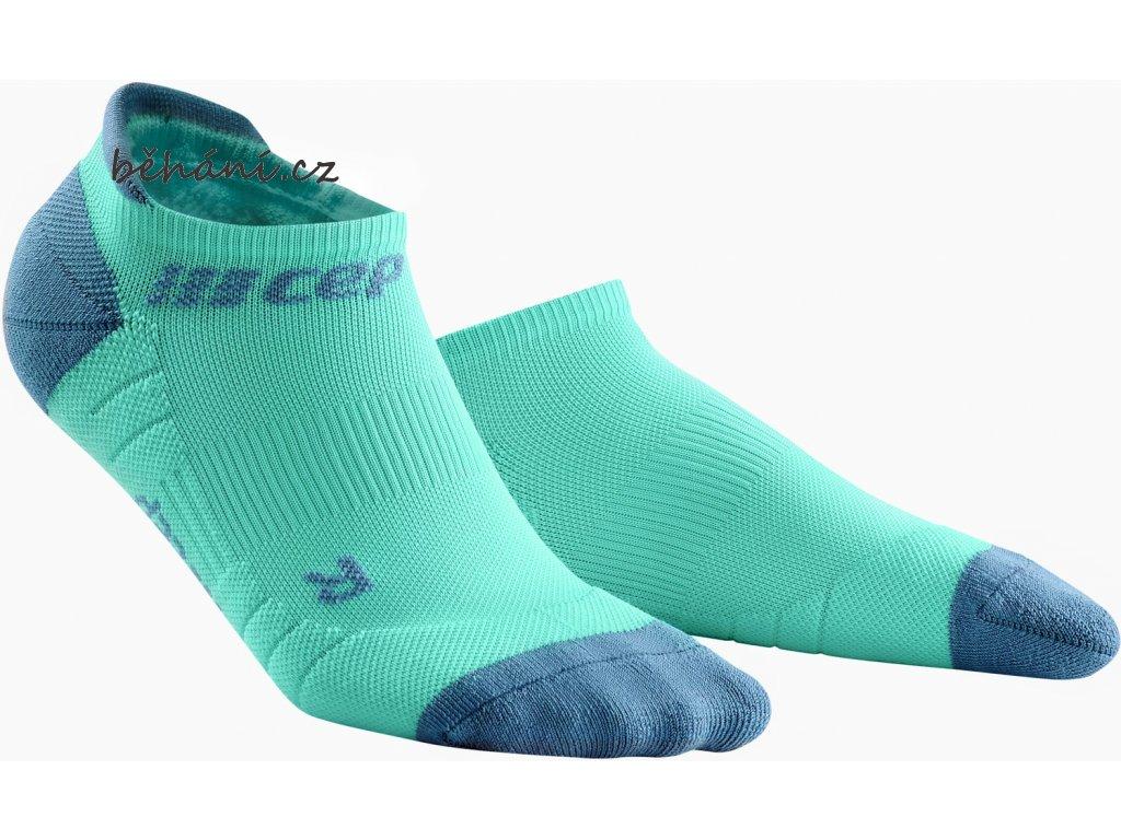 Compression No Show Socks 3 0 mint grey WP46CX WP56CX front 2