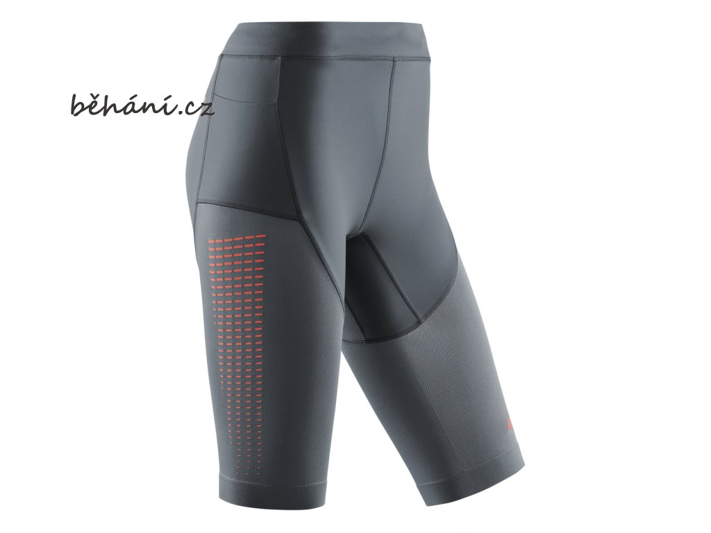 Run Compression Shorts 3 0 grey coral W0A1BC w front