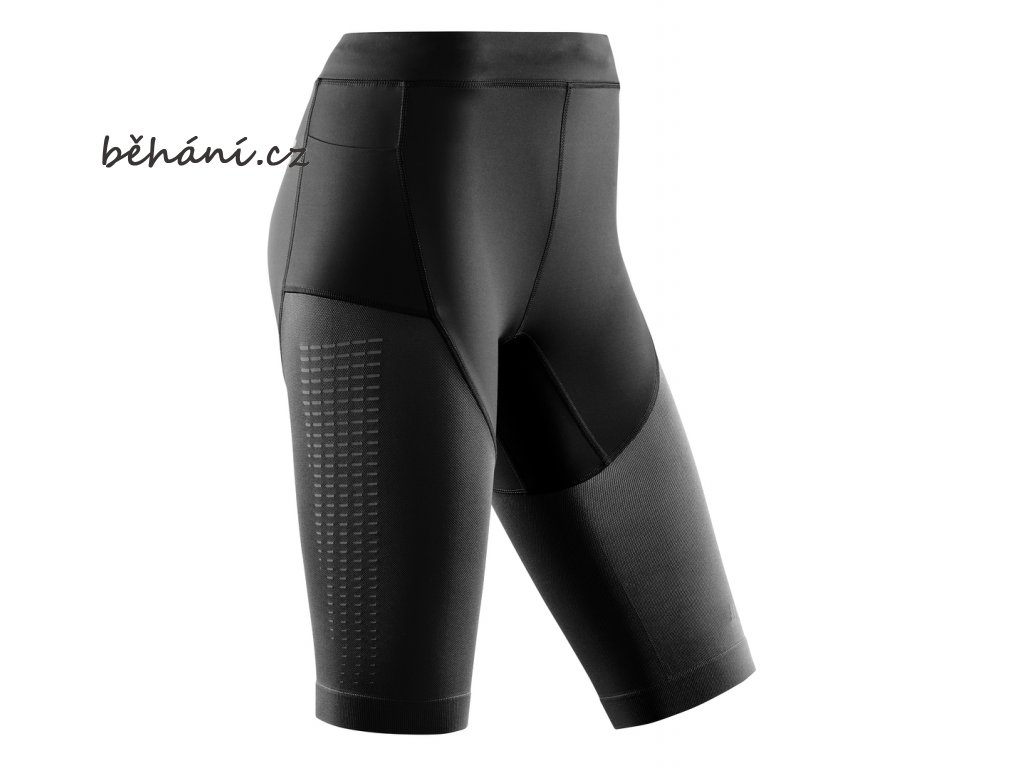 Run Compression Shorts 3 0 black W0A15C w front
