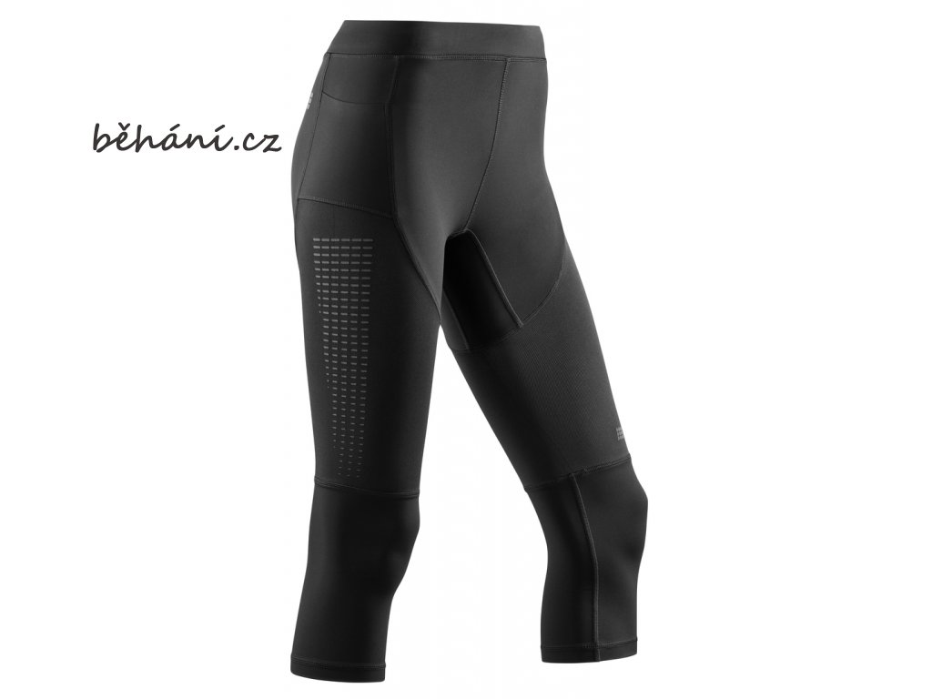 Run Compression 3 4 Tights 3 0 black W0A85C w front