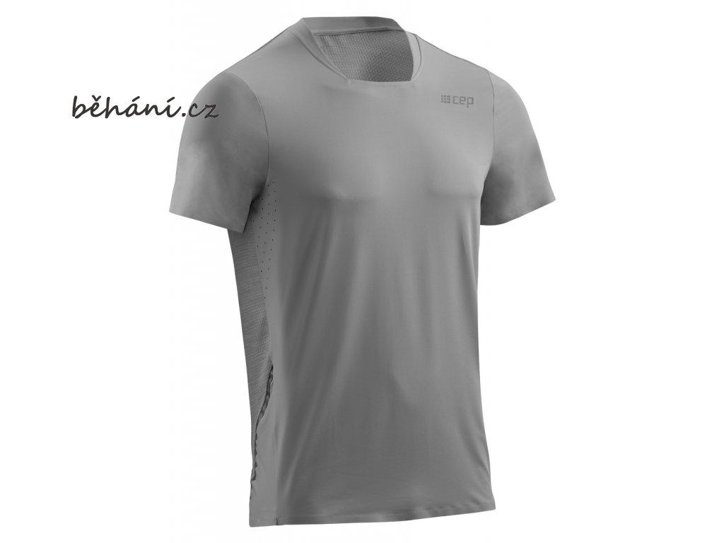 Run Shirt Short Sleeve grey W10325 m front