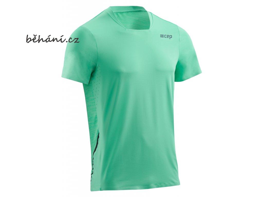 Run Shirt Short Sleeve mint W013C5 m front