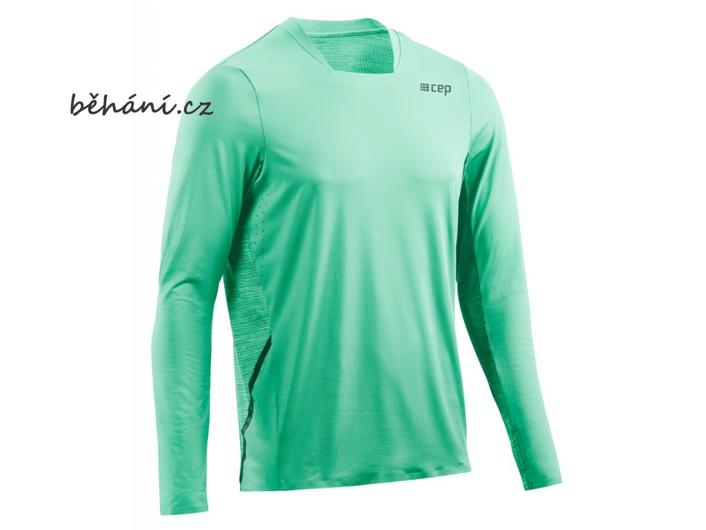 Run Shirt Long Sleeve mint W013C6 m front