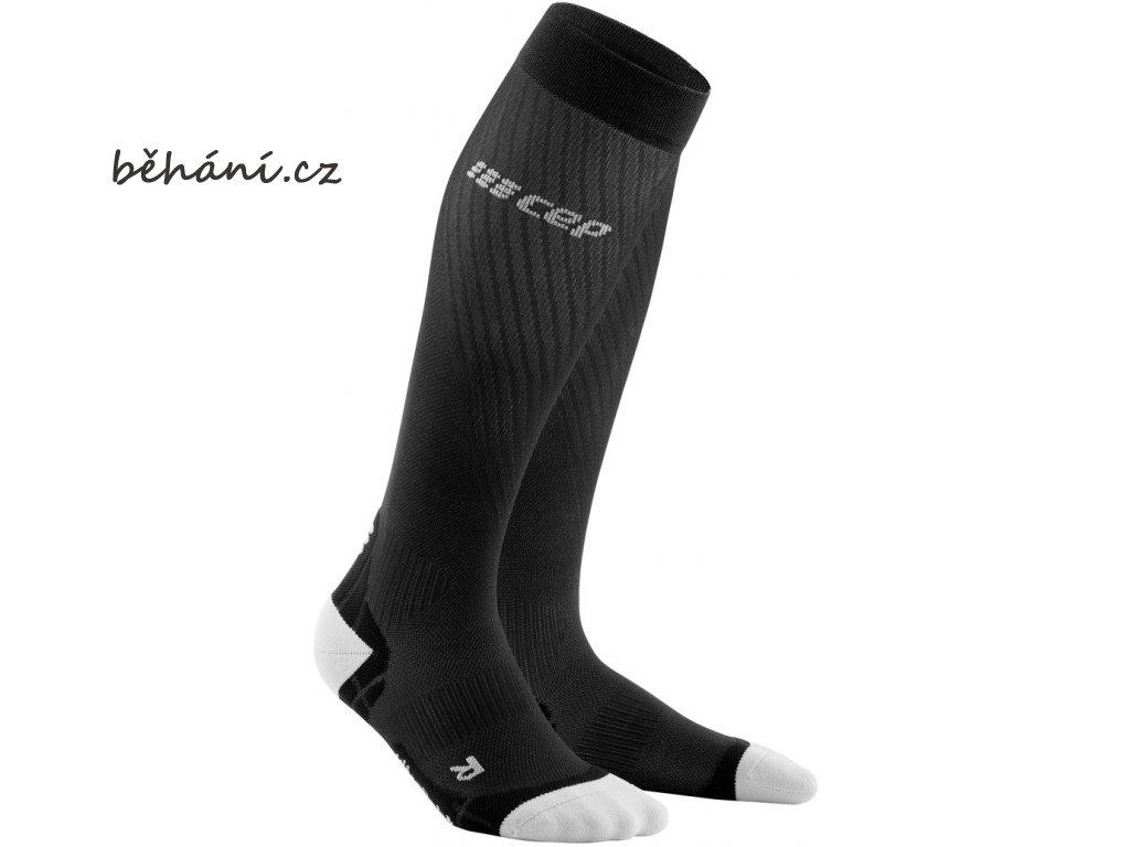 Run Ultralight Compression Socks black lightgrey WP40IY WP50IY front 2