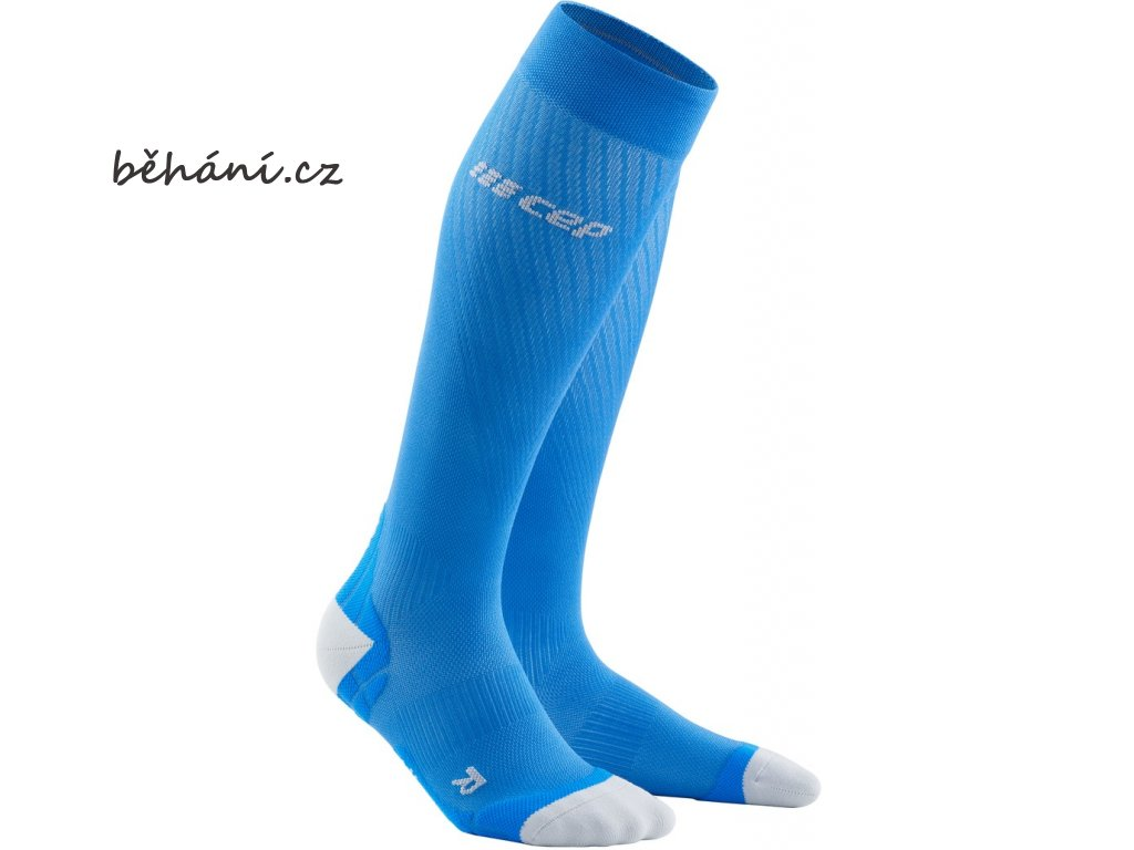 Run Ultralight Compression Socks electricblue lightgrey WP40KY WP50KY front 2