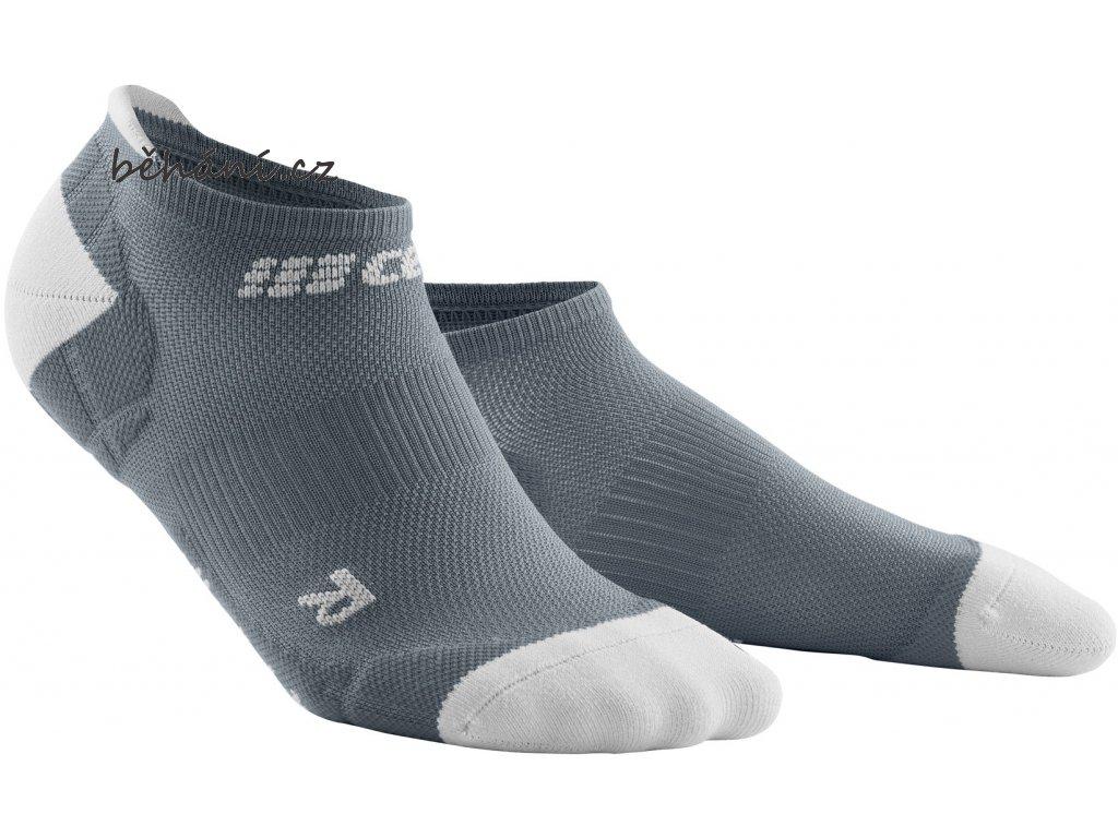 Ultralight Compression No Show Socks grey lightgrey WP46JY WP56JY front 2