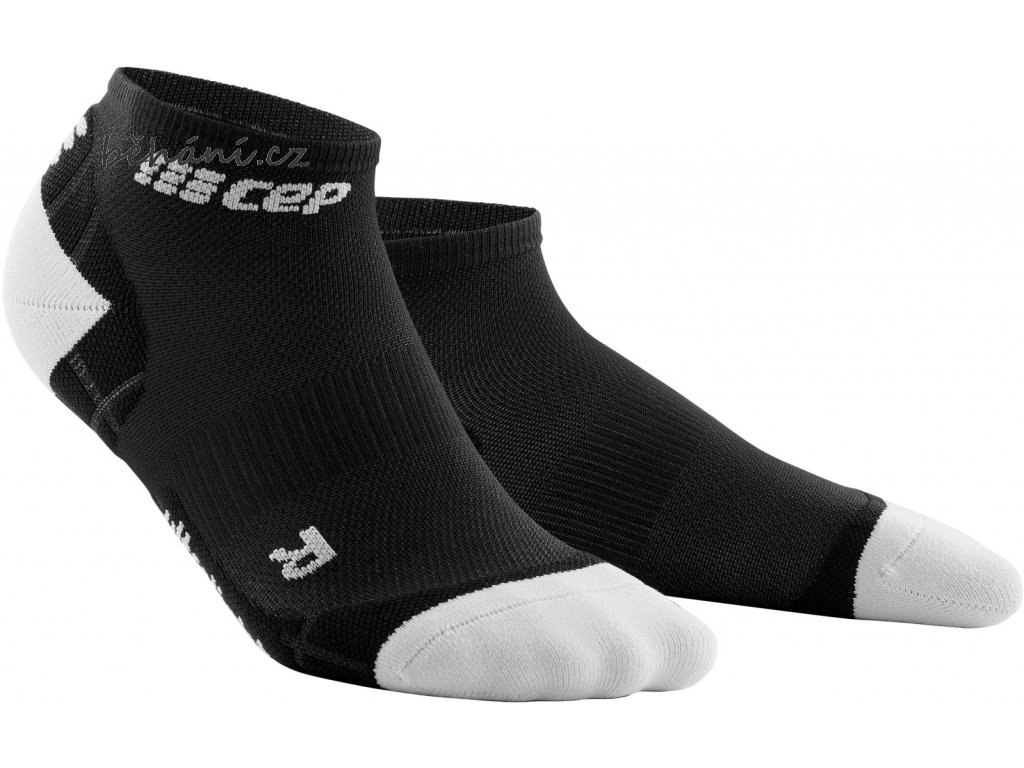Ultralight Compression Low Cut Socks black lightgrey WP4AIY WP5AIY front 2