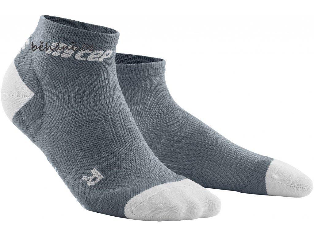 Ultralight Compression Low Cut Socks grey lightgrey WP4AJY WP5AJY front 2