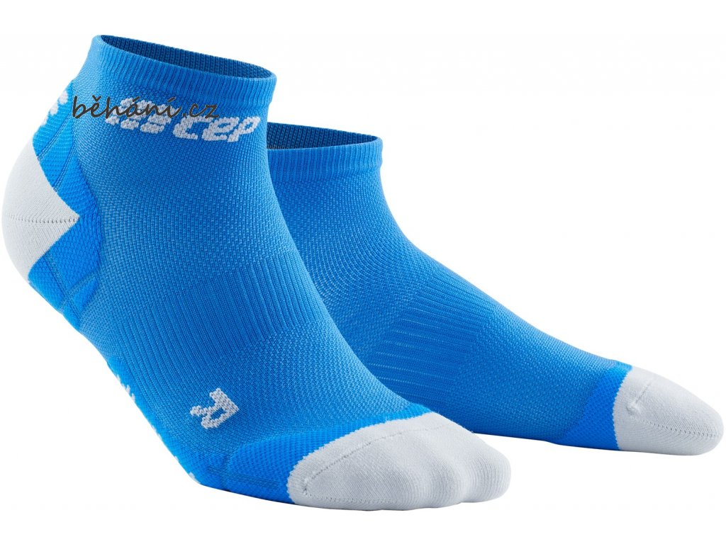 Ultralight Compression Low Cut Socks electricblue lightgrey WP4AKY WP5AKY front 2