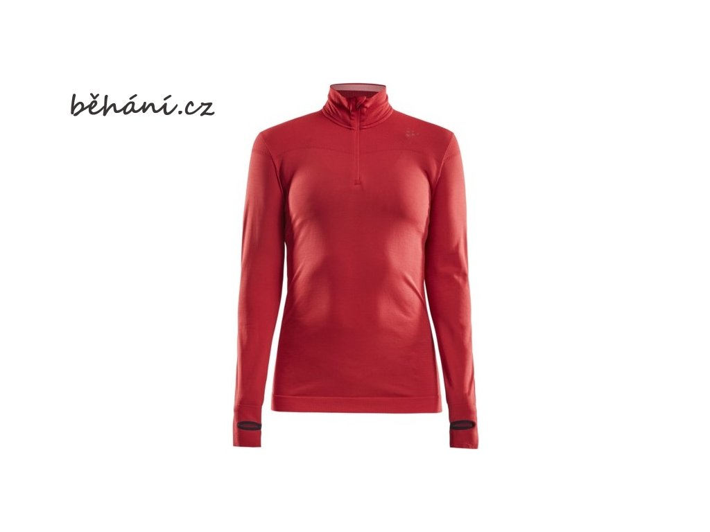w triko craft fuseknit comfort zip cervena
