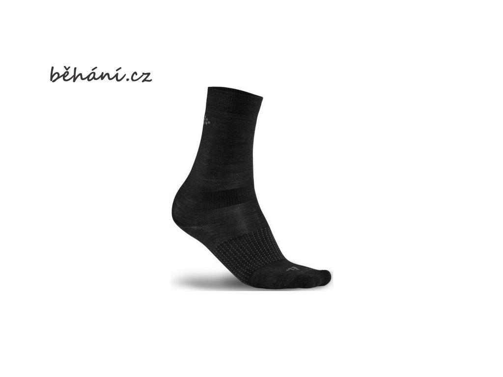 Ponožky CRAFT Wool Liner - dva páry