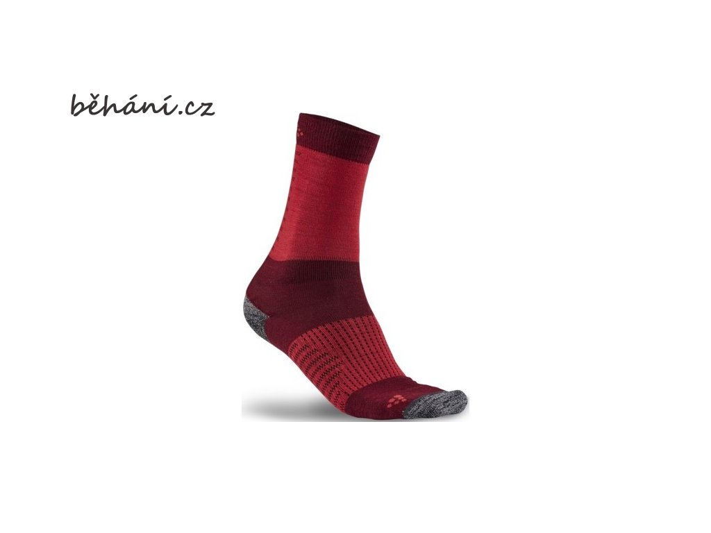 ponozky craft xc training cervena