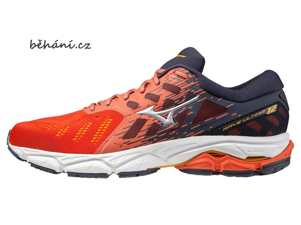 0034285 scarpa da corsa da uomo mizuno wave ultima 12 arancione