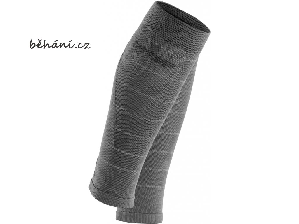 Reflective Calf Sleeves grey WS402Z WS502Z front 2