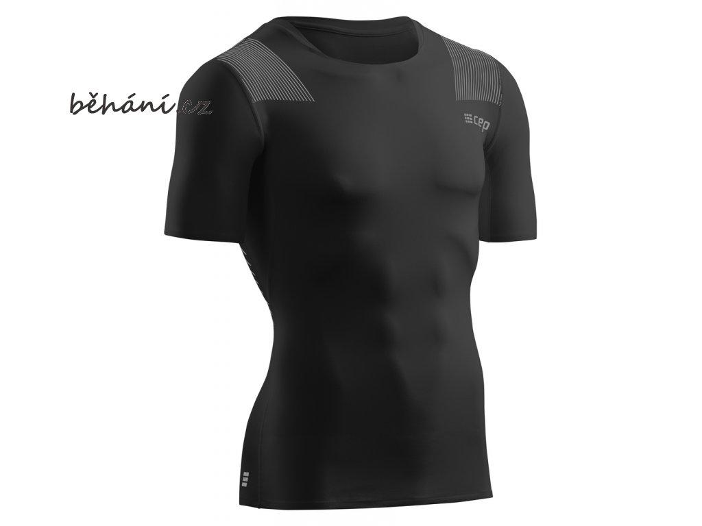 Wingtech Shirt Short Sleeve black W06D55 m front