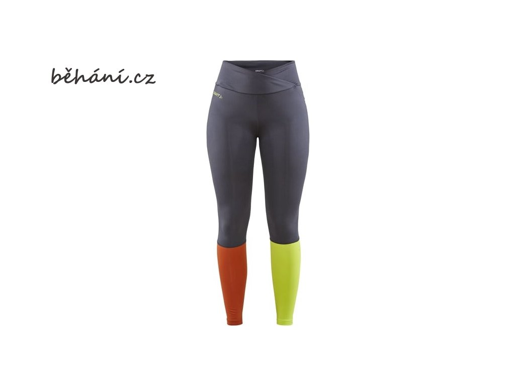 w kalhoty craft core sence tights tmave seda 4