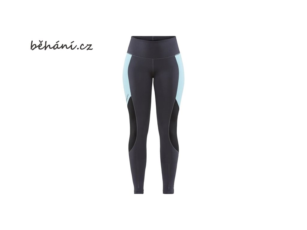 w kalhoty craft adv essence warm tights tmave seda 4